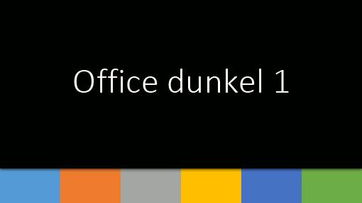 Office dunkel 1
