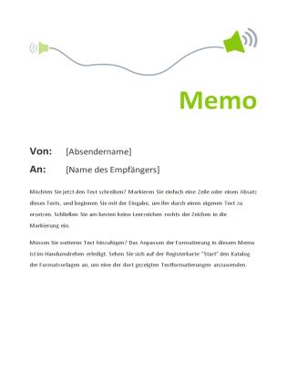 memo office templates
