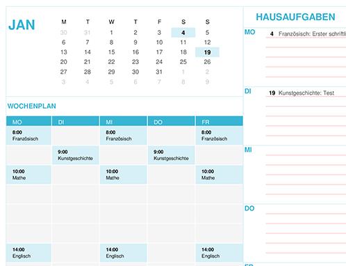 Schulkalender (Mo)