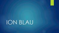 Ion blau