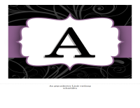 Geburtstagsbanner (Design mit lila Bändern)