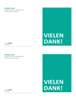 Notizkarten für kleine Unternehmen