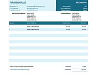 Standardrechnung mit Einzelpreis