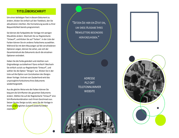 Software-Broschüre