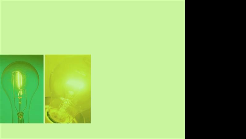 """Entwurfsvorlage """"Grünes Leuchten"""""""