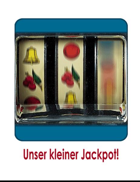 Faire-part de naissance (thème jackpot)
