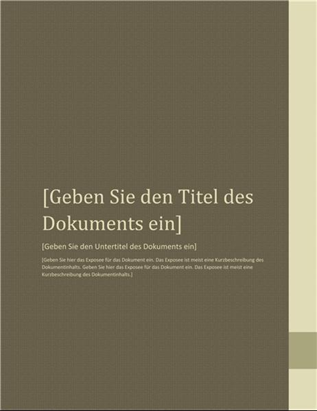 """Bericht (Design """"Nähe"""")"""