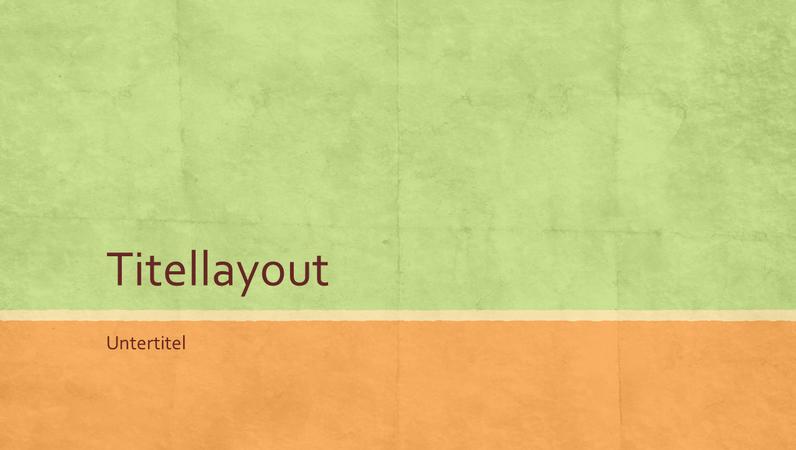 Erdfarbenpräsentation (Breitbild)