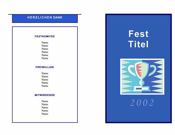 Veranstaltungsprogramm