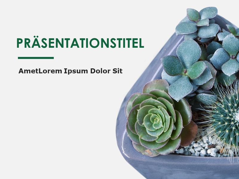 Botanik-Designfolien