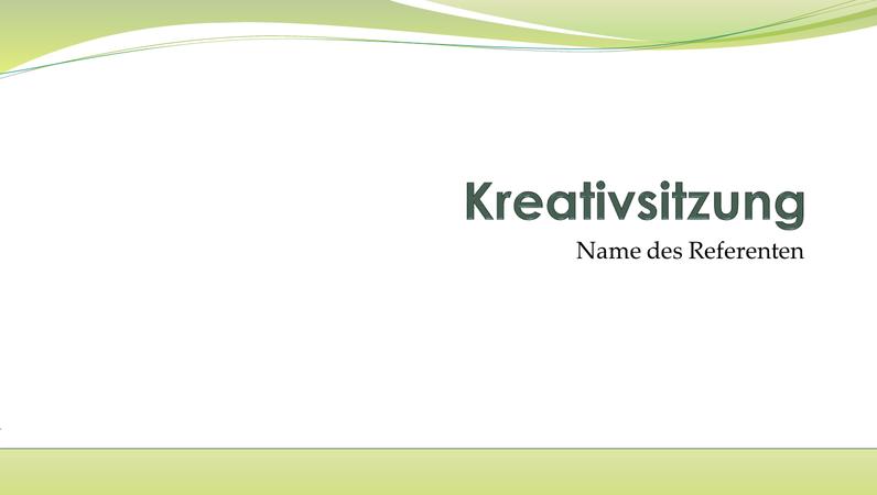 Brainstorming-Geschäftspräsentation