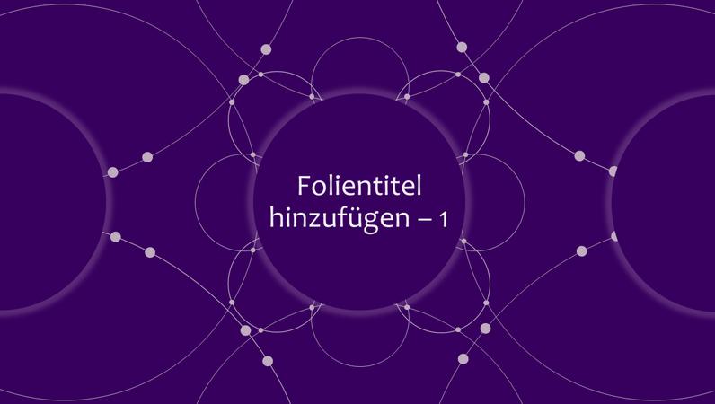 Diapositive de titre animée Spirales