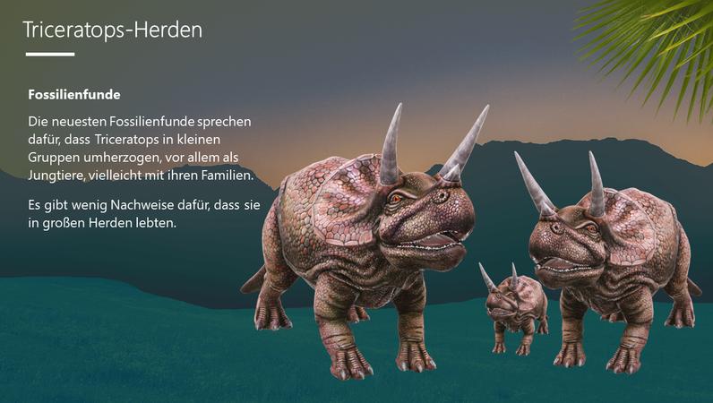 Triceratops – Der dreihörnige Dinosaurier