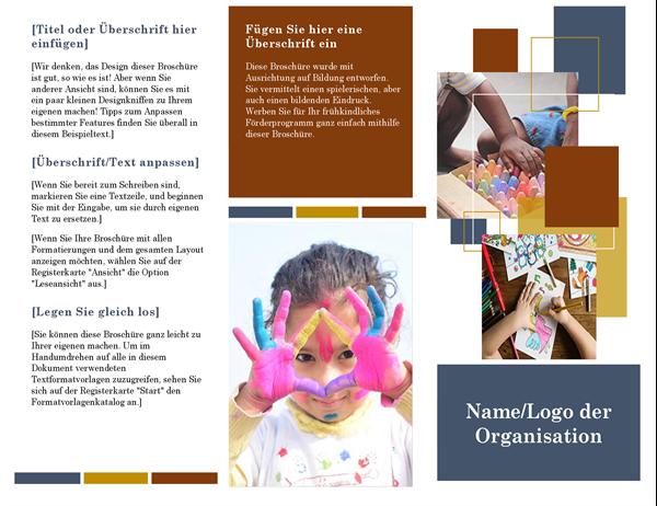 Brochure éducation