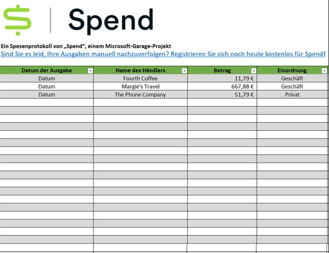 Ausgaben-Tracker