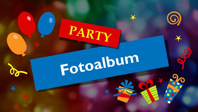 Party-Fotoalbum