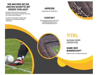 Sportbroschüre