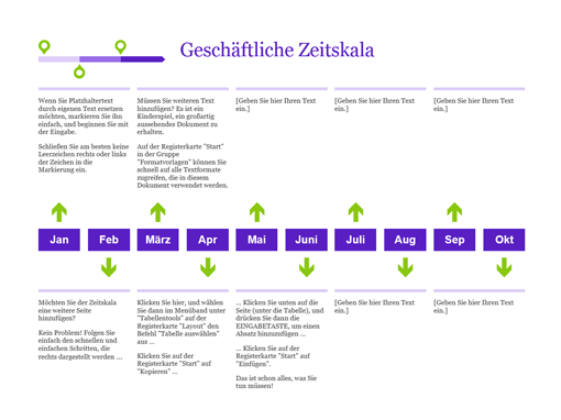 zeitachse f r projektplanung office templates