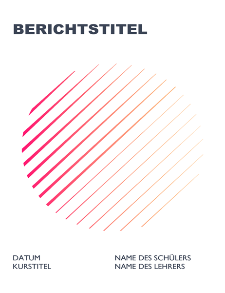 Geometrischer Bericht für Schüler und Studierende