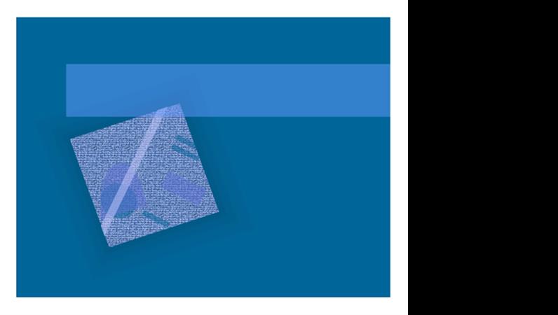 """Entwurfsvorlage """"Blaue Welle"""""""