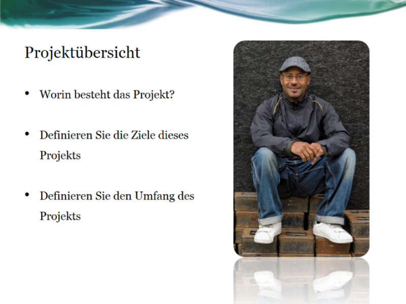 Präsentation: Projektstatusbericht