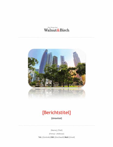 Geschäftsbericht (6 Seiten)