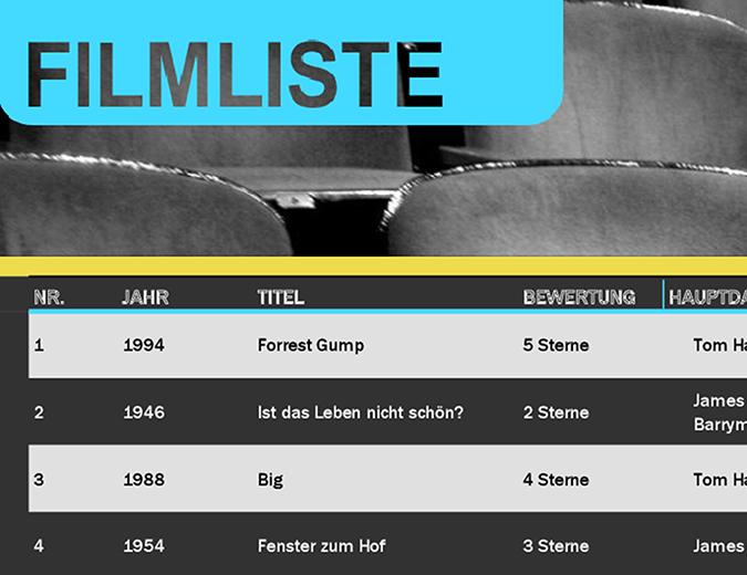 Filmliste