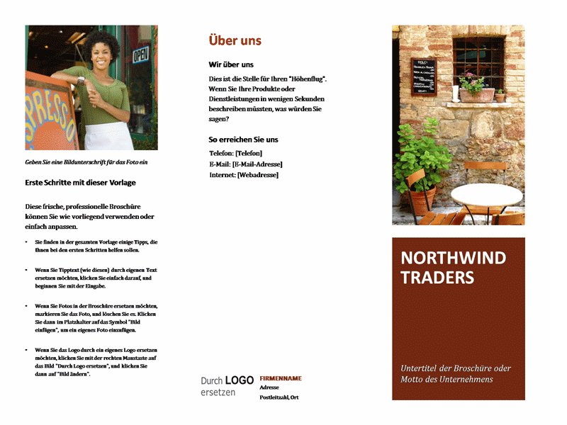 Broschüre für kleine Unternehmen