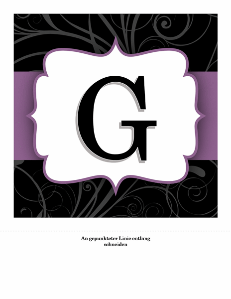 Elegantes Banner zum Hochzeitstag