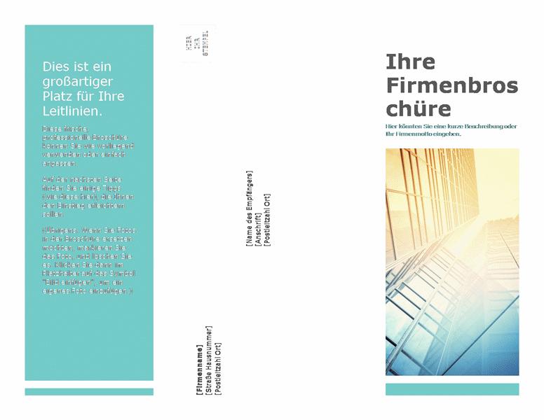 Broschüre (geschäftlich)