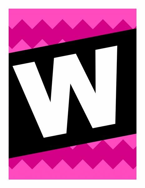 """Banner """"Willkommen! – mit Grafikmustern"""