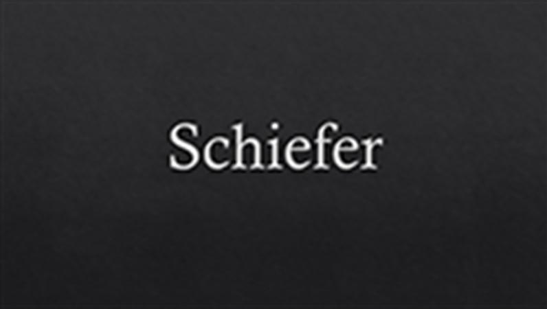 Schiefer