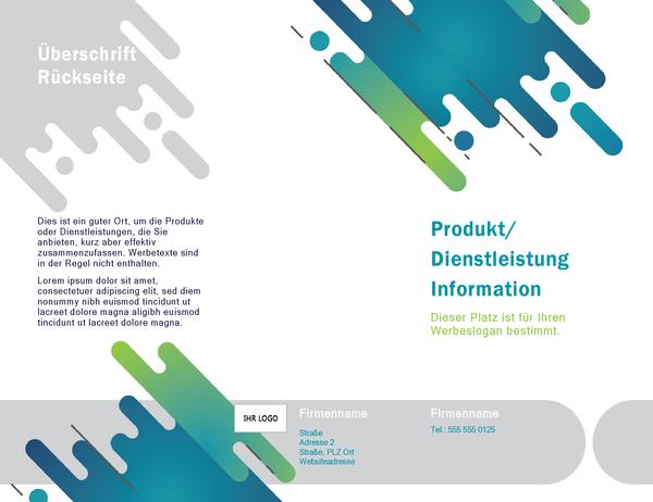 """Broschüre (Design """"Kapseln"""")"""