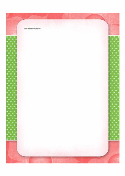 Briefpapier (Blumenmuster)