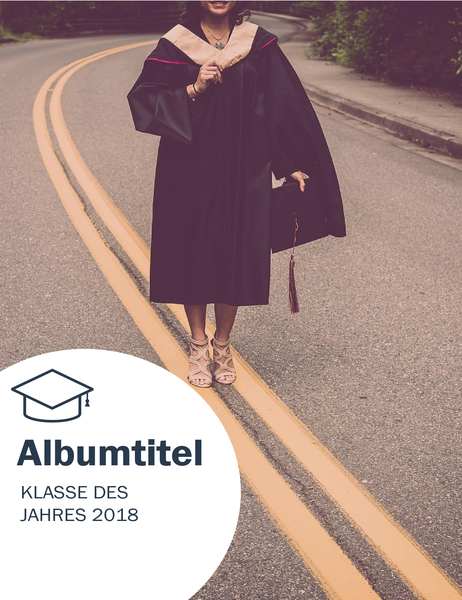 Fotoalbum zur Abschlussfeier (Strukturdesign)