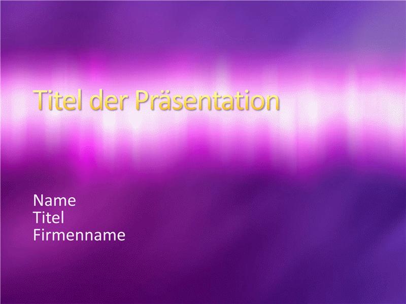 """Beispielpräsentationsfolien (Design """"Purpurfarbige Textur"""")"""