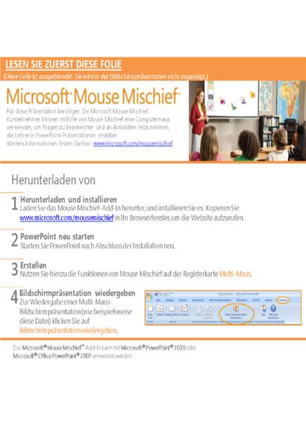 Mouse Mischief-Farben (ESL)