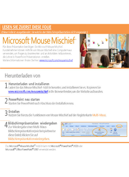 Mouse Mischief-Geometrienetze