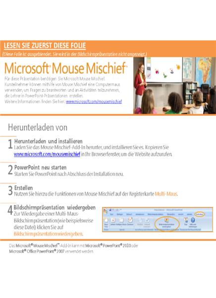 Mouse Mischief – Wert mit Einheitenblöcken positionieren