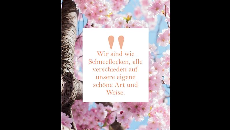 Instagram-Nachrichten und -Zitate (vertikal)