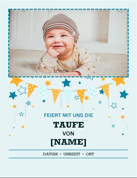 """Foto-Flyer """"Taufe"""""""