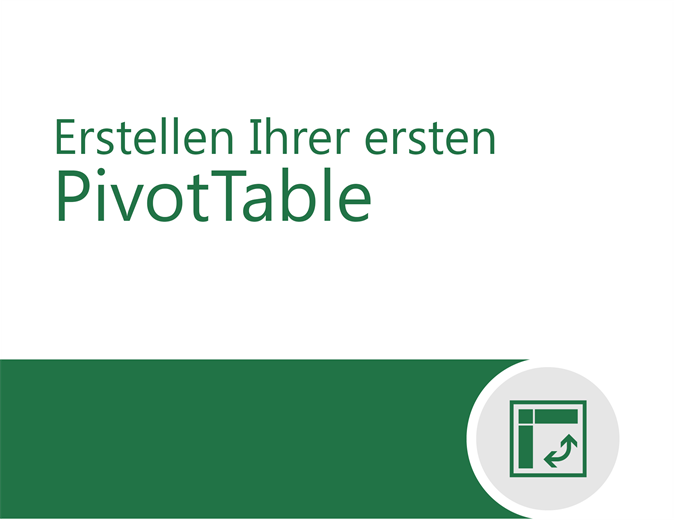 PivotTable-Tutorial