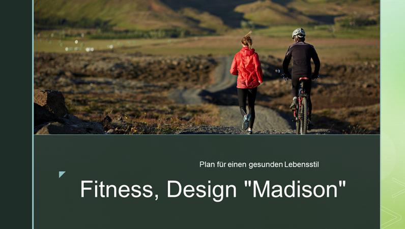 "Fitness, Design ""Madison"""