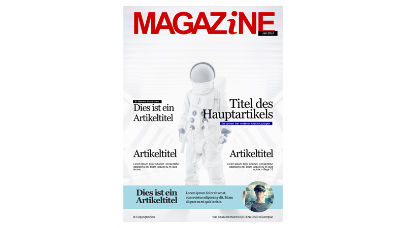 Magazineinbände