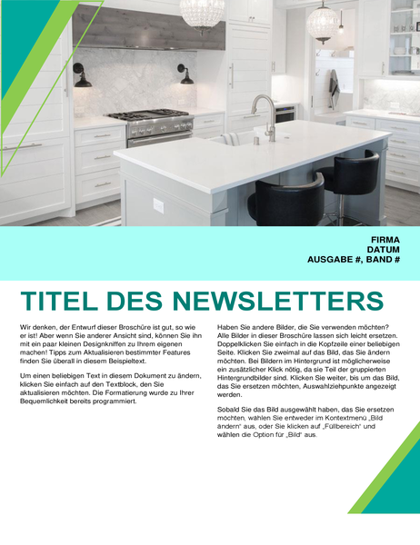 "Newsletter ""Innendesign"""