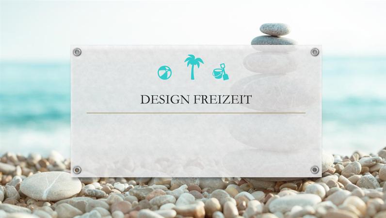 """Design """"Bio"""" für Freizeitbeschäftigungen"""