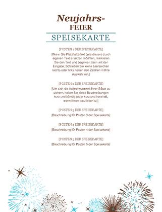 Veranstaltung Silvester