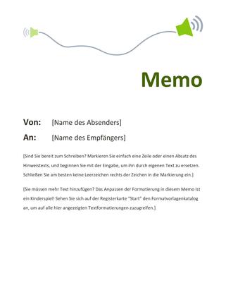 Memo - Office Templates