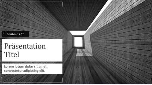 """Verkaufspräsentation """"Architektur"""""""