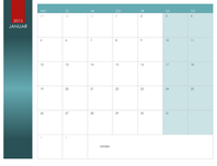 Beliebiger Jahreskalender